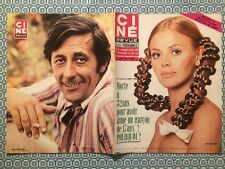 Ciné Revue n 38 1969 Britt Ekland Jean Rochefort Silvia Dionisio Diable au Corps