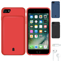Rechargeable Extended Battery Portable Charging Case For iPhone Plus 8 6s 7 6 X