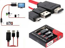 MHL Micro USB to HDMI HDTV CABLE LEAD FOR SAMSUNG GALAXY S3/S4/S5/Note 2/3/4: BR