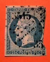 Empire Franc non dent N° 15 b (TB-1274-2) oblit  DEF. COTE : 270 €+270 €