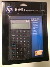 Hewlett Packard HP-10BII Plus Financial Calculator HP 10BII+