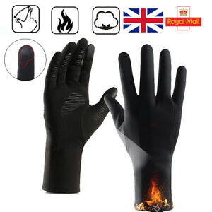 UK Winter Warm Gloves Touch Screen Windproof Waterproof ANTI-SLIP Driving Gloves