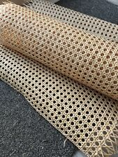 Cane webbing natural rattan cane 18 inch wide sold  by  foot