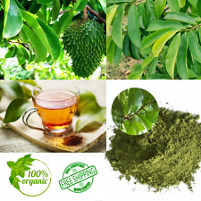 100% Pure Ceylon Soursop Green Loose Tea (aka Guanabana/Graviola leaves/anoda)