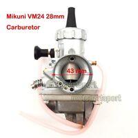 Mikuni VM24 28mm Carb Carburetor For Yamaha TTR125 2000-2002 2003 2004 Dirt Bike