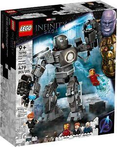 LEGO Marvel Infinity Saga Iron Man: Iron Monger Mayhem 76190