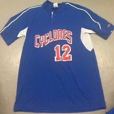 Brooklyn Cyclones #12 Jersey Size Large MILB New York Mets NY