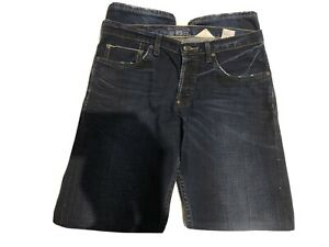 Gilded Age Men's Straight Leg Selvedge Denim Jeans, Made in USA, Size 33W 34L