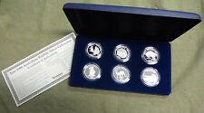 YEAR 2000  AUSTRALIAN  WILDLIFE  SILVER MEDAL COLLECTION