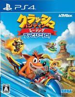 USED PS4 Crash Bandicoot Racing Buttobi Nitro! JAPAN Sony PlayStation 4 Japanese