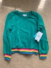 Girls Green Sweater - Eyeshadow brand, size 7-8