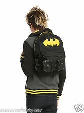 DC COMICS BATMAN SUIT-UP BACKPACK WITH REMOVABLE UTILITY BELT FREE PRIORITY SHIP