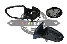 DOOR MIRROR FOR NISSAN DUALIS J10 11/2007-5/2014 LEFT SIDE BLACK ELECTRIC 5 PIN