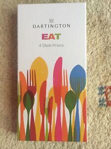 Dartington EAT Steak Knives 18/10 Stainless Steel Set Of 4