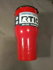 NEW RTIC 30oz Tumbler - Red or White - you choose