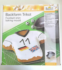 Football Shirt Baking Mould with high quality non-stick coating by Birkmann.