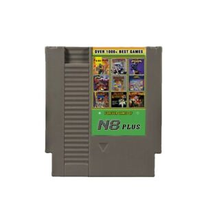 NES 1000 in 1 N8 Plus Over 1000+ Best Games Remix Game Card
