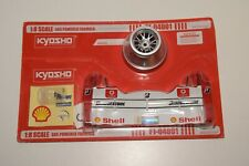 V 1:8 KYOSHO KIT GAS POWERED FERRARI F1 FORMULA 1 FRONT WING R/C MINT ON CARD