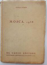 Mosca 1938 Gisela Dohrn De Carlo editore 1943