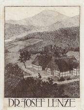GERHARD WEDEPOHL: Exlibris für Dr. Josef Lenze