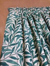 Willow Boughs William Morris Genuine Hand Sewn Curtains Interlined