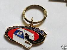 Rahal Race Car Driver Keychain Leather Key Chain (#614)