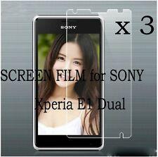 3 LCD Matte Screen Protector Cover Guards Shield Film Foil F Sony Xperia E1 Dual