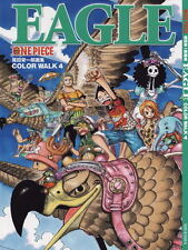 One Piece color Walk 4 Eagle *** artbook * nuevo
