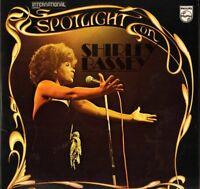 SHIRLEY BASSEY spotlight on 6625 011 uk philips DOUBLE LP PS EX/EX gatefold slve