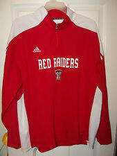 Adidas Texas Red Raiders ClimaLite Jacket Mens Size 2XL XXL NWT