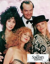 MICHELLE PFEIFFER CHER SUSAN SARANDON THE WITCHES OF EASTWICK 1987 VINTAGE PHOTO