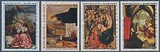 1967 DAHOMEY PA N°67/70**  Tableaux, Noël, Paintings, Christmas MNH