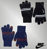 Boys Genuine Nike Gym Silicone Grip Knitted Gloves Sports Accessories 7-14 Yrs