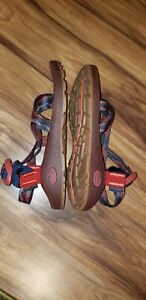 Chaco Womens Z Cloud Sandals Navy/Red Size 8US