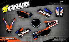 SCRUB KTM SX 85 2006-2012 '06 - '12 Grafik Sticker Dekor-Set