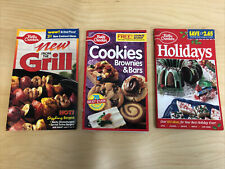 Betty Crocker Vintage 90's Paperback Book books Lot Of 3
