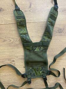 Danish Army PLCE Webbing Yoke Suspenders / Braces M84 DANCAM - Used