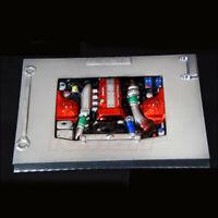 1/10 Rc Car Engine Bay Polycarbonate Clear For Tamiya tt01 tt02 tt01e