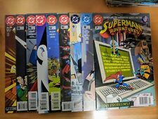 Superman Adventures Lot of 18 Issues Millar Evanier Luthor Metallo Toyman & more