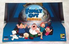"""FAMILY GUY PINBALL 11.5""""x17.5"""" Original Promo TV Game Poster SDCC 2015 XXXX/2000"""