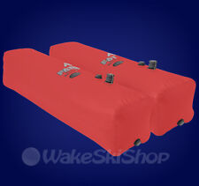 FLY HIGH SIDE SET FAT SAC WAKEBOARD SURF BOAT BALLAST BAGS 520LBS RED - W703