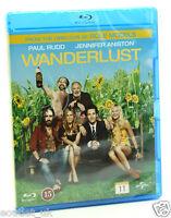 Wanderlust Blu-ray Región B NUEVO SELLADO Jennifer Aniston Paul Rudd Comedia