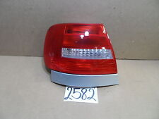 2002 Audi A4 DRIVER Side Tail Light Used Rear Lamp #2582-T