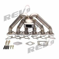 REV9 HP SERIES RB20 RB25 EQUAL LENGTH TOP MOUNT TURBO MANIFOLD T3 RB25DET T3/T4