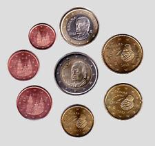 Spain 2012 - Set of 8 Euro Coins (UNC)