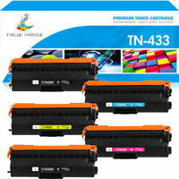 5x Toner Compatible with Brother HL-L8260cdw HL-8360cdw MFC-L8900cdw TN433 TN431