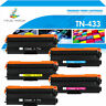 5x Toner Compatible for Brother HL-L8260cdw HL-8360cdw MFC-L8900cdw TN433 TN431