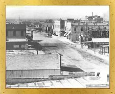 Downtown 1910 Las vegas American Vintage Old City Wall Art Decor Framed Picture