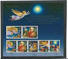 GREAT BRITAIN 2011 CHRISTMAS MINIATURE SHEET FINE USED.