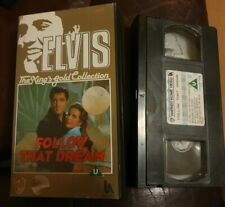 ELVIS PRESLEY FOLLOW THAT DREAM. VHS VIDEO